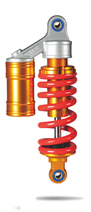 After the off-road vehicle (motorcycle) center Rear Air Shock Absorber Suspension QL-36GBAR001