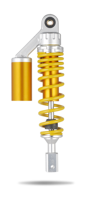 Motorcycle (electric vehicle) Rear Air Shock Absorber Suspension QL-GBR-008-36